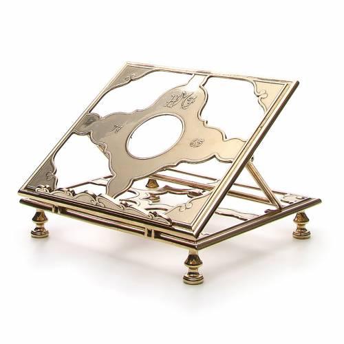Brass book-stand s2