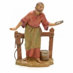 Figuras del Belén: Caballeriza con cerca 12 cm Fontanini