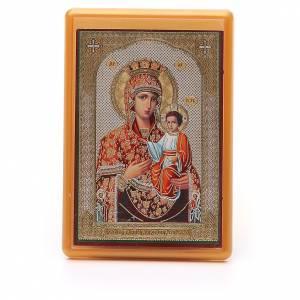Magneti dei Santi, Madonna, Papa: Calamita russa plexiglass Autodisegnata 10x7