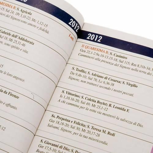 Calendario liturgico anno 2012 2