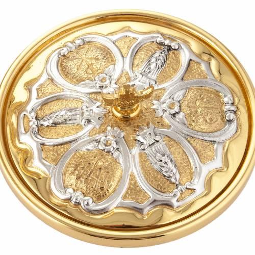 Calice argento e Pisside dorata argentata 3 putti s13