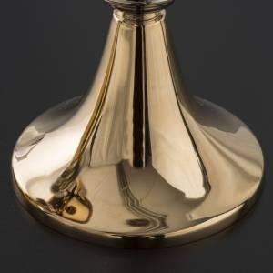 Calice e pisside in stile classico ottone s5