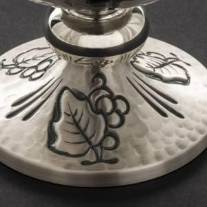 Cálices, Copones y Patenas metal: Cáliz copón y patena latón con espigas-cruz
