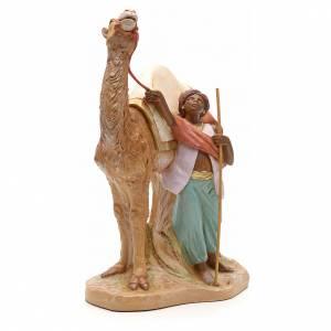 Camellero con camello 19cm Fontanini s4