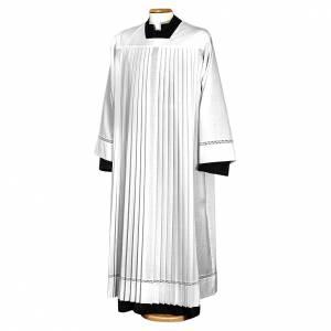 Camice plissettato lana s1