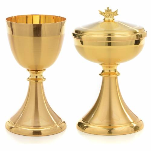 Candlestick in golden and silver coloured bronze, hammered s5