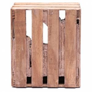 Capanna per presepe in legno 20x15x15 cm s4