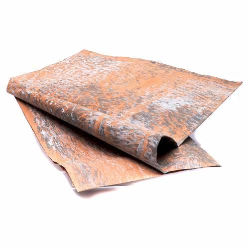 Carta roccia dipinta a mano 70x100 cm presepe fai da te s2