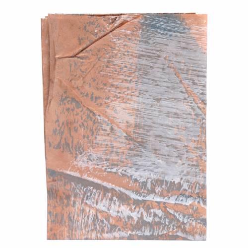 Carta roccia dipinta a mano 70x100 cm presepe fai da te s1