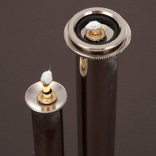 Cartouche en métal pour bougie à cire liquide s2
