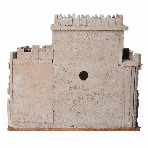 Castello arabo per presepe in sughero s8