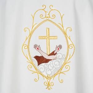 Casula liturgica e Stola stemma francescano s7