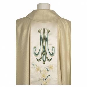Casule: Casula mariana fiori 93% lana 4% poliestere 3% viscosa effetto tratteggiato