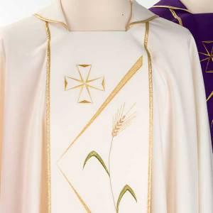 Casula sacerdotale decori stilizzati s4