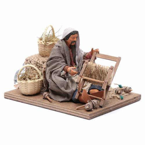 Chair fixer 14cm neapolitan animated Nativity s3