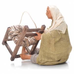 Chair fixer, sitting, Neapolitan Nativity 12cm s2
