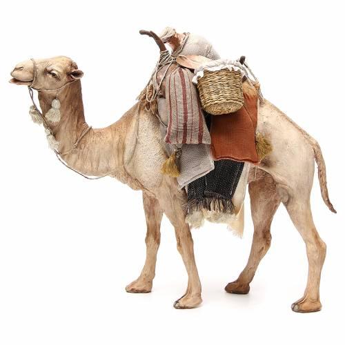 Chameau avec sacs crèche Angela Tripi 30 cm s2