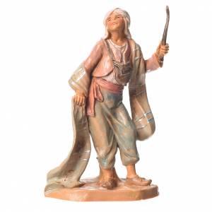 Santons crèche: Chamelier 9,5 cm Fontanini