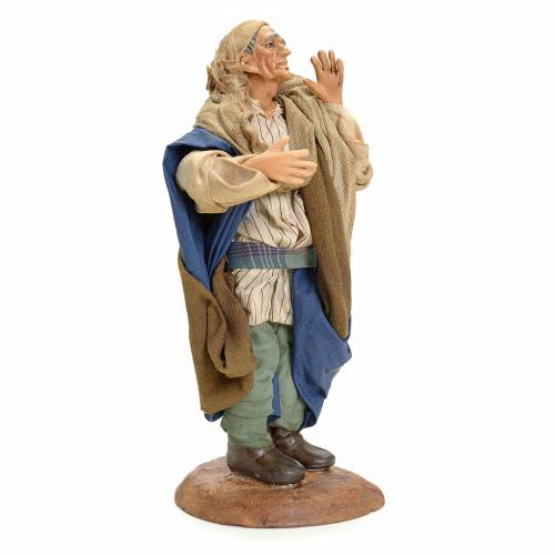 Chanteur crèche Napolitaine 18 cm s2