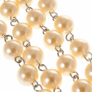 Chapelets perles d'imitation: Chapelet grain perlés 8 mm