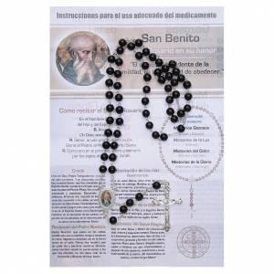 Rosaires de dévotion: Chapelet Vitamine des Saints Saint Benoît ESP