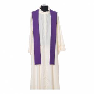 Chasuble 100% polyester IHS croix épis s9