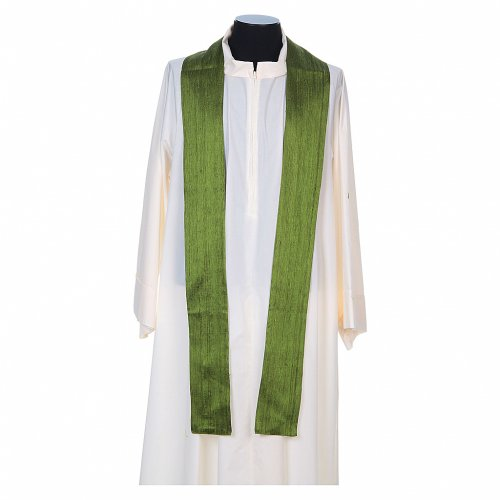Chasuble 100% pure soie shantung s7