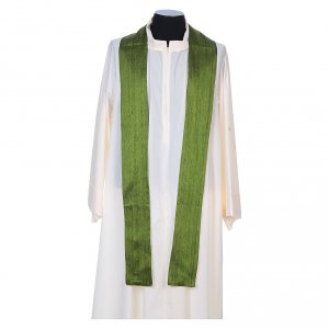 Chasuble in pure Shantung silk s7