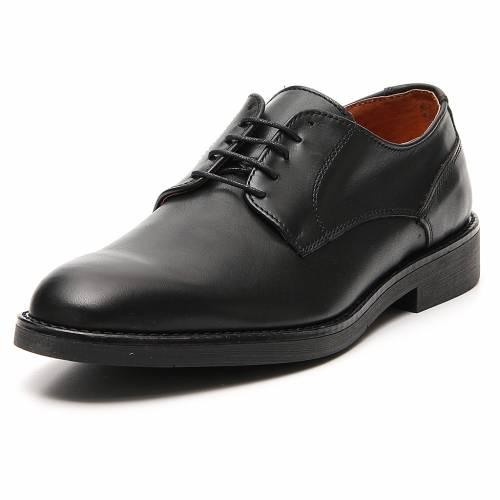 Chaussures cuir véritable de veau noir s4