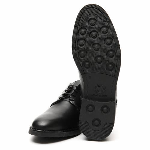 Chaussures cuir véritable de veau noir s6