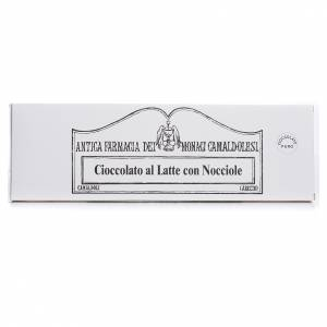 Chocolate trapense: Chocolate con leche y avellanas 250 gr Camaldoli