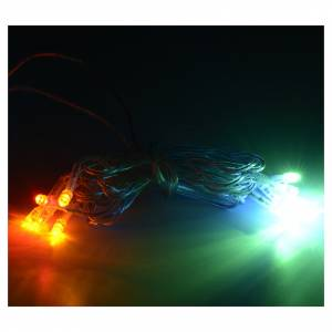 Christmas lights: Christmas lights 10 LED lights, multicoloured