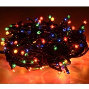 Christmas lights: Christmas lights 180 mini lights, multicoloured for indoor use