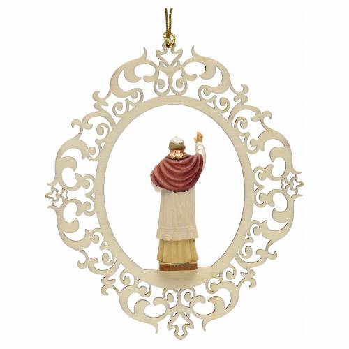 Christmas tree decor Pope Benedict XVI s2