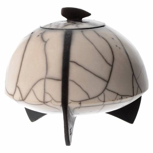 Cinerary urn, Naked Raku, Circle 1/10 s1