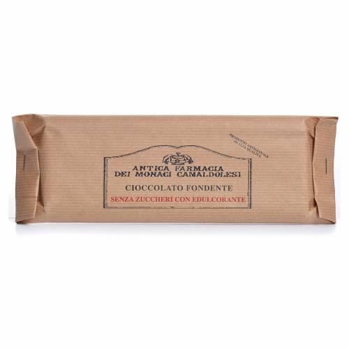 Cioccolato fondente senza zuccheri agg 100 gr Camaldoli s1