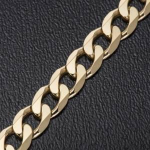 Collier épiscopal argent 925 doré 2 faces 90 cm s3