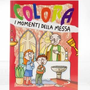 Libri per bambini e ragazzi: Colora i momenti della Messa