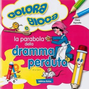 Coloriage,la parabole de la monnaie perdue ITA s1