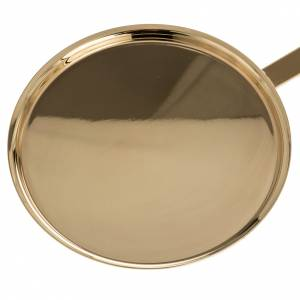 Various Products: Communion plate in polished brass