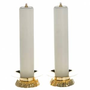 Candelieri metallo: Completo finte candele e candelieri