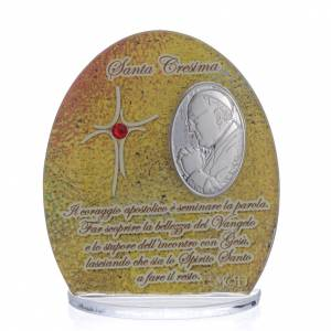 Confirmation favour with Pope Francis image 8.5cm s1