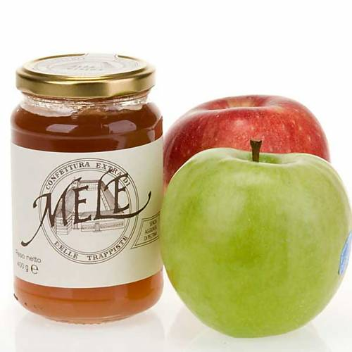 Confiture Extra pommes  400gr, Trappistines Vitorchiano s1