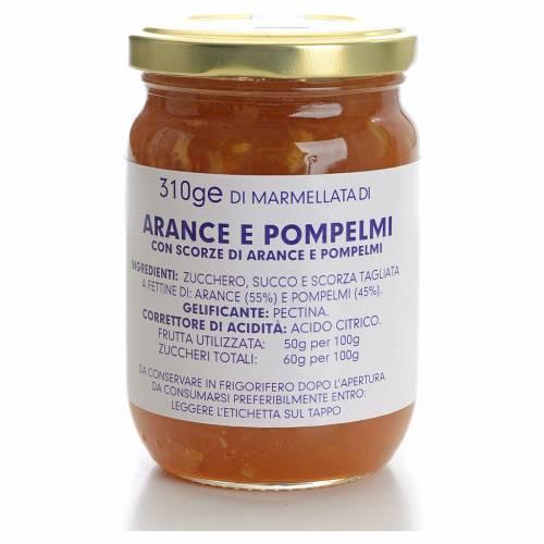 Confiture orange et pamplemousse 310 g Carmélites s1