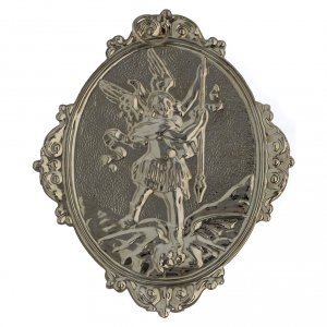 Confraternity Medal in brass, Saint Michael s4