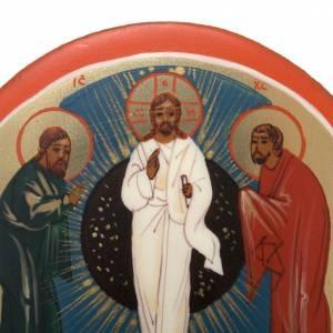 Íconos Pintados Rusia: Ícono miniatura Transfiguración
