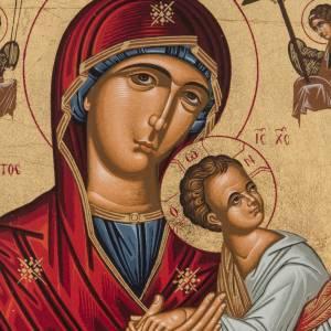 Ícono serigrafiado Madre de Dios de la Pasión Grec s2