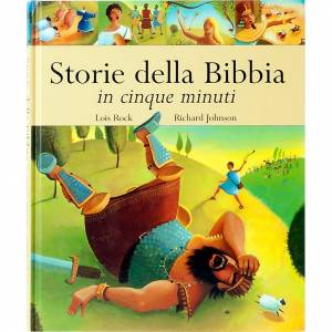 Livres pour enfants: Contes de la Bible en 5 minutes ITALIEN