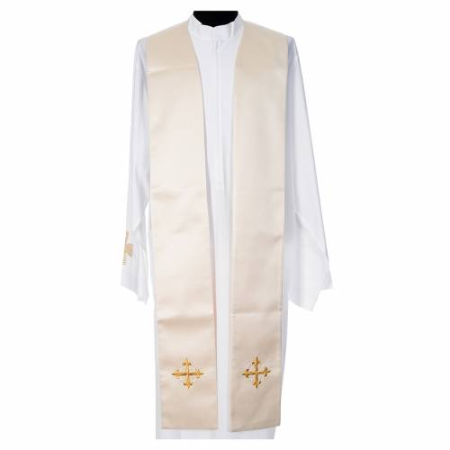 Cope in 100% polyester with chalice in relief s10