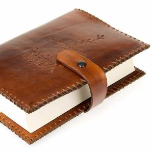 Copri Bibbia cuoio Cei Uelci 2009 s4